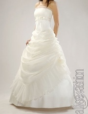 Б/у свадебное платье цвета