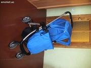 коляска everflo зима-літо синя в ідеальному стані