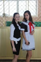 Школьная форма Советского Союза на первое  сентября