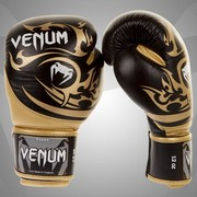 Боксерские перчатки Venum Tribal Boxing Gloves-Black/Gold