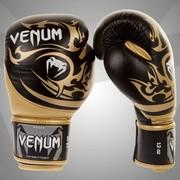 Боксерские перчатки Venum Tribal Boxing Gloves-Black/Gold