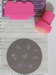 Набор для дизайна ногтей стемпинг нейл арт