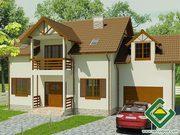 Строительство панельно-каркасных домов под ключ (СИП-панели) 205, 8 м2