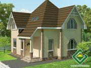 Строительство панельно-каркасных домов под ключ (СИП-панели) 107, 13 м2