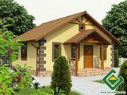 Строительство панельно-каркасных домов под ключ (СИП-панели) 71, 74 м2.