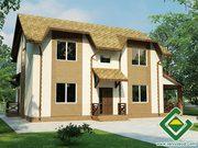 Строительство панельно-каркасных домов под ключ (СИП-панели) 156, 55 м2