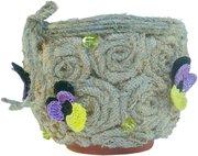 Подарок для любимых: Цветочный горшок ручной работы
