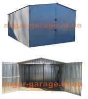 металлический гараж сборно-разборной различных размеров