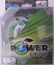 Шнур Power Pro 125м.,  зелёный