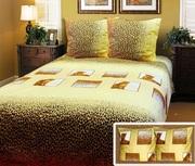 Купить постельное белье,  Комплект полуторный Сафари