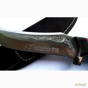 Нож охотничий с фиксированным клинком,  код: 017