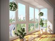 Металлопластиковые окна,  двери,  фасады