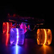 Скейтборд Пенниборд со светящимися колесами: 5 цветов