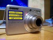 Продам фотоаппарат SONY CYBER-SHOT S-730