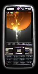 Nokia E72 (2 сим карты,  цветное ТВ) 1650