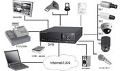 Сигнализация,  видеонаблюдение,  домофоны